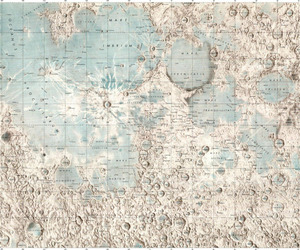 moon and map image