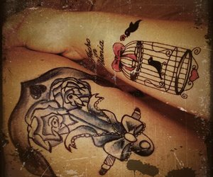 bird and tattoo image
