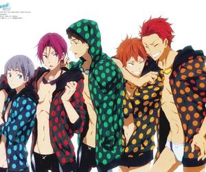 anime, free!, and rin matsuoka image