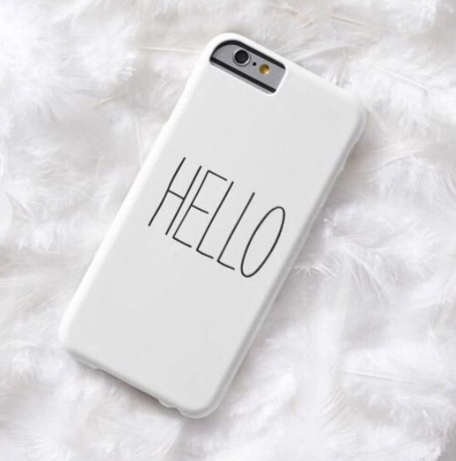 white, iphone, and case image