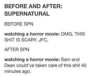 supernatural and horror image