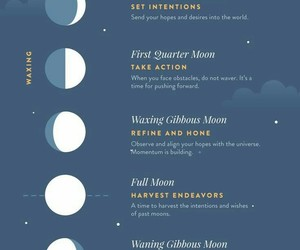 moon, pagan, and spell image