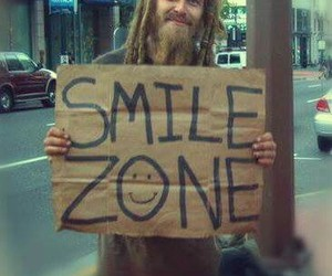 smile, ZONE, and happy image