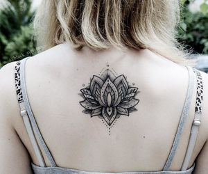 lotus, tattoo, and Tattoos image