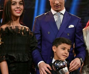 cristiano ronaldo, real madrid, and georgina rodriguez image