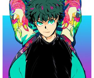anime, boku no hero academia, and bakugou image