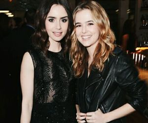 actresses, event, and lily collins image
