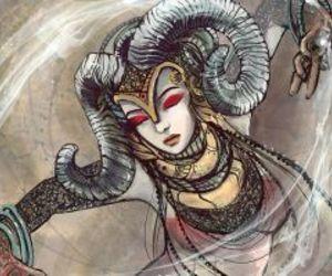aries, art, and zodiac image