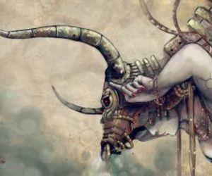 taurus, art, and sign image