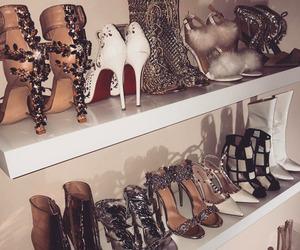 beauty, heels, and luxury image