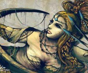 Sagittarius, art, and sign image
