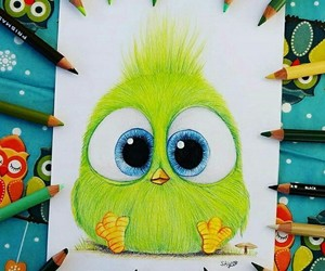 green and cute image