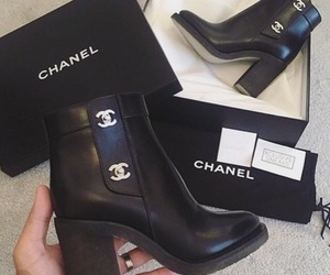 chanel, heels, and fashion image
