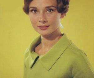 actress, audrey, and green image