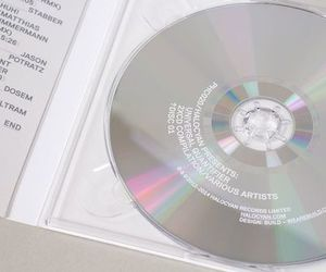 aesthetic, white, and cd image