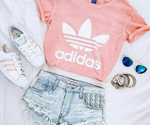 adidas, fashion, and look image