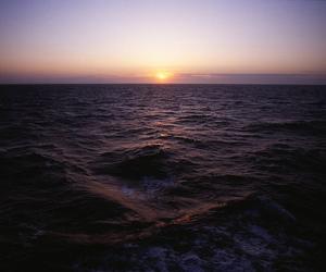 ferry, Hokkaido, and ocean image