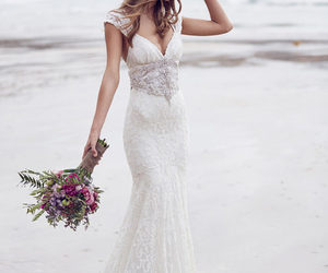 wedding, dress, and bridal image