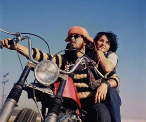 60s, hell's angels, and 70s image