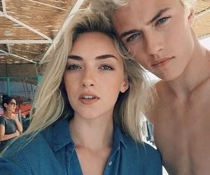 model, boy, and couple image
