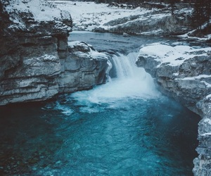 nature, tumblr, and winter image