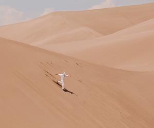 sand travel adventure image