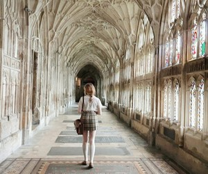 girl, aesthetic, and hogwarts image