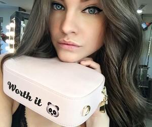 beauty, eyes, and panda image