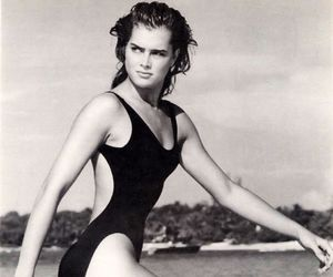 beautiful, swimsuit, and vintage image