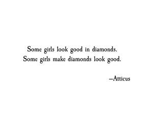 diamond, atticus, and girls image