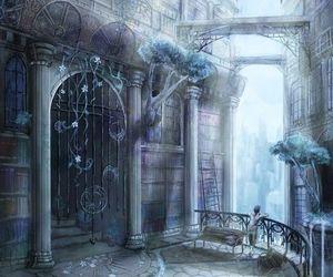 art, fantasy, and scenery image