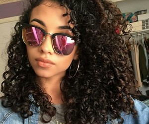 Afro, curly hair, and short hair image