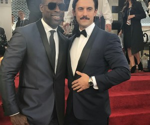 golden globes, this is us, and Milo Ventimiglia image