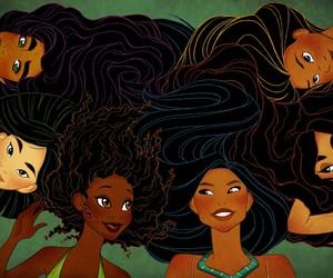 disney, princess, and mulan image