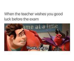 funny, exam, and teacher image