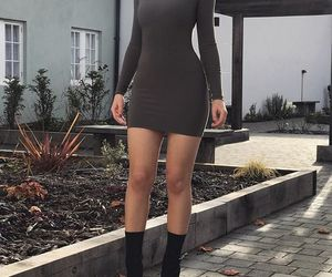 body, dress, and fit image