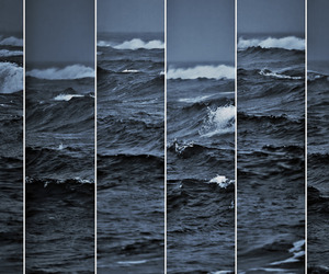 art, ocean, and photography image