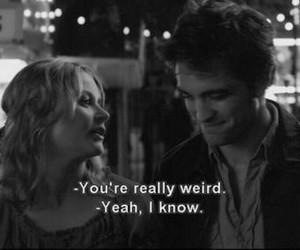 remember me, weird, and robert pattinson image
