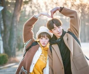 nam joo hyuk, kdrama, and couple image
