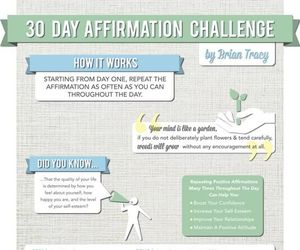 affirmation, exam, and positive image