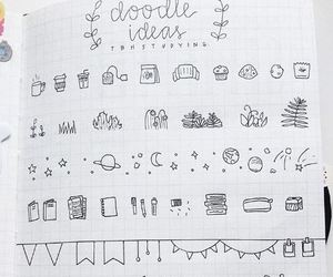 doodle, ideas, and journal image