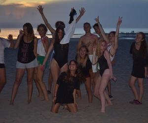 beach, boys, and fun image
