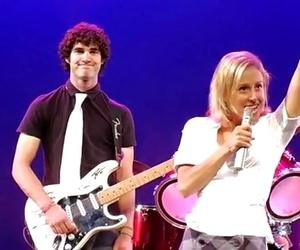 darren criss, lauren lopez, and little white lie image