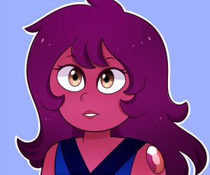 carnelian and steven universe image