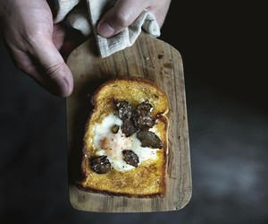 bread, egg, and toast image