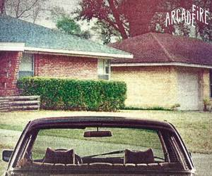 album, arcade fire, and the suburbs image