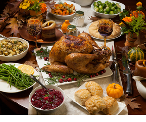 turkey recipes, thanksgiving recipes, and thanksgiving menus image