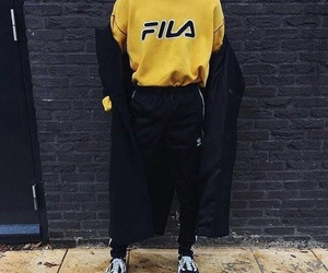 Fila, vans, and oldskool image
