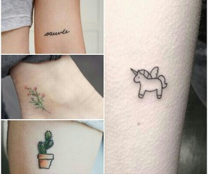 cactus, sweet, and tattoo image