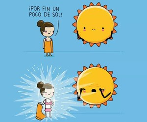 sun, funny, and summer image